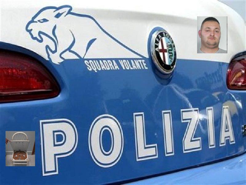 Arrestato spacciatore 26 enne di Librino, teneva la droga nascosta in una sedia
