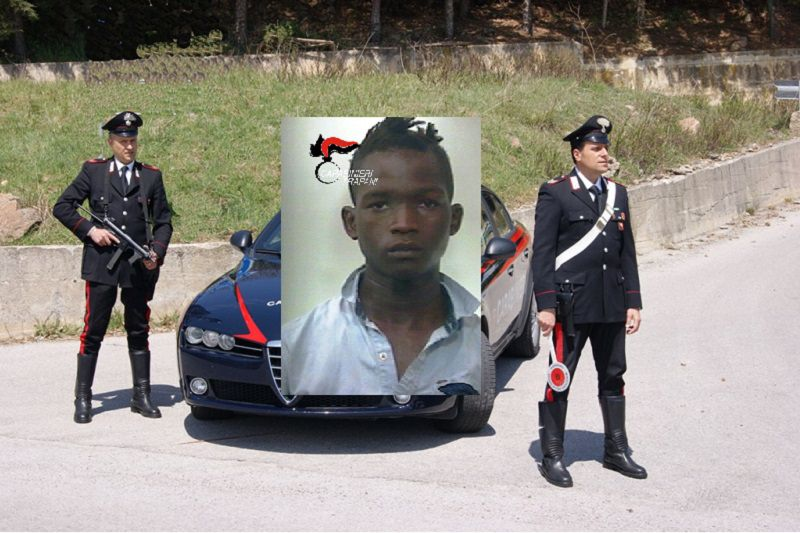 Ubriaco semina il panico tra i negozi del centro: arrestato 18enne gambiano