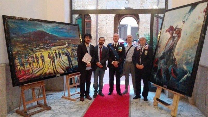 203 anni fondazione dell'arma dei carabinieri: donati due dipinti al comando di Agrigento