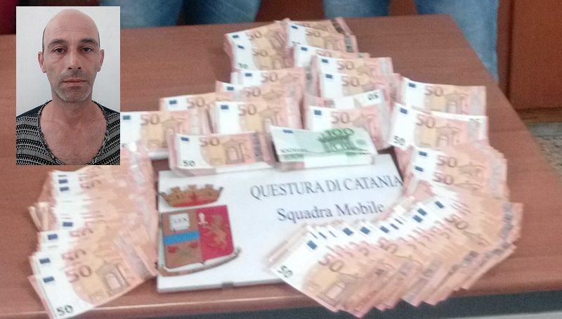 Da Catania a Napoli con centomila euro di banconote false: arrestato 44enne di Picanello