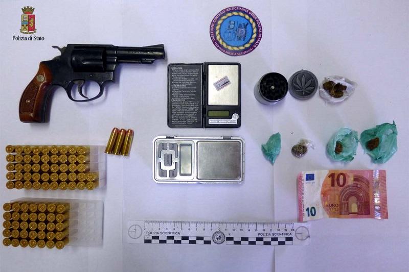 Controlli a Piazza Armerina: sequestrate armi, munizioni e droga
