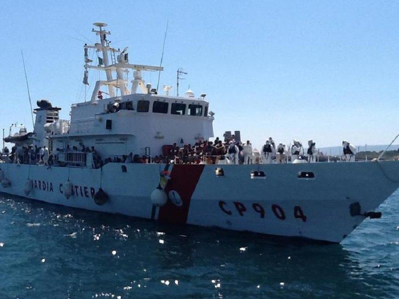 Sbarchi a Catania e Pozzallo: in arrivo 536 migranti