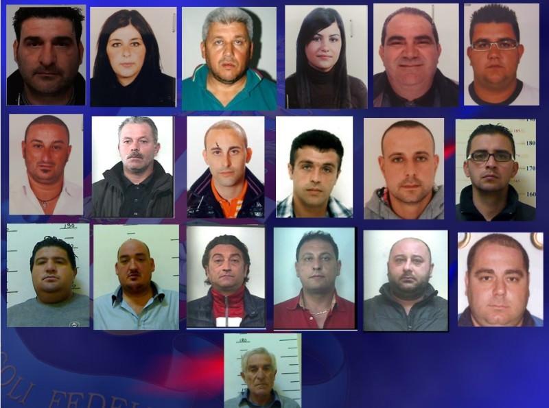 """Operazione """"Proelio"""": FOTO e NOMI degli arrestati"""