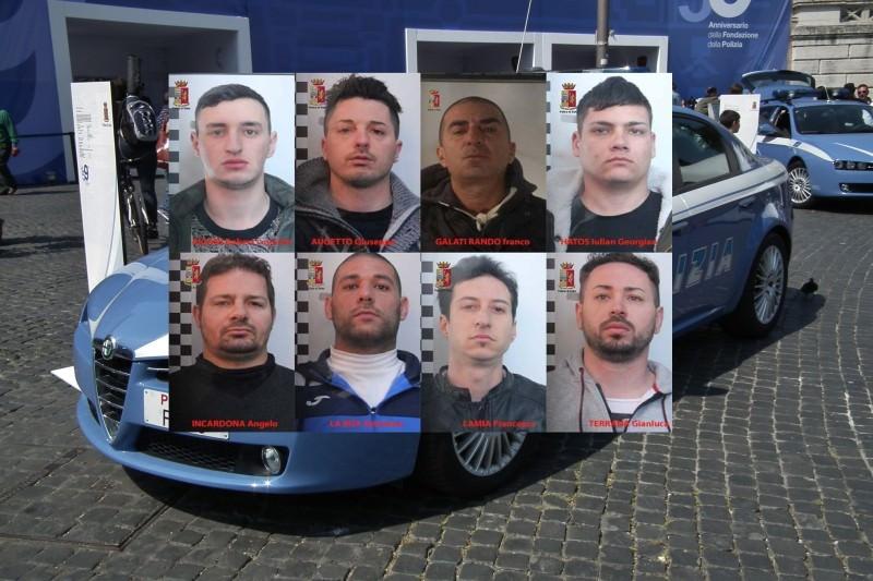 Terrore tra Palermo e Messina: picchiavano e sequestravano i proprietari delle ville. FOTO e NOMI