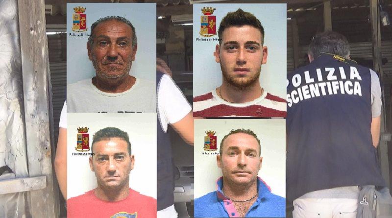 Tentano di uccidere un imprenditore per futili motivi: arrestati padre e tre figli