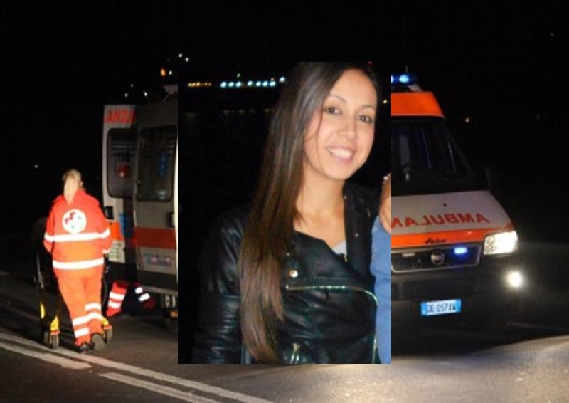 Scontro fatale tra due auto e una moto: morta una donna di 31 anni