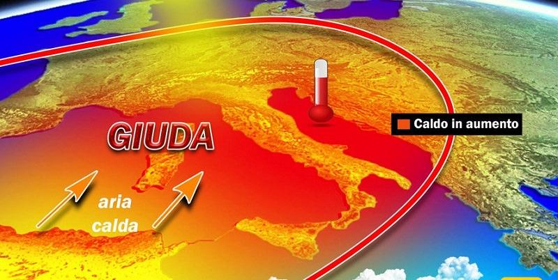 """Arriva dall'Africa l'anticiclone Giuda: caldo anomalo """"infiamma"""" la Sicilia"""