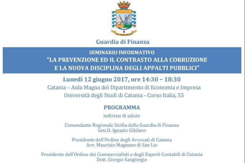 Lunedì seminario sugli appalti pubblici al dipartimento di economia
