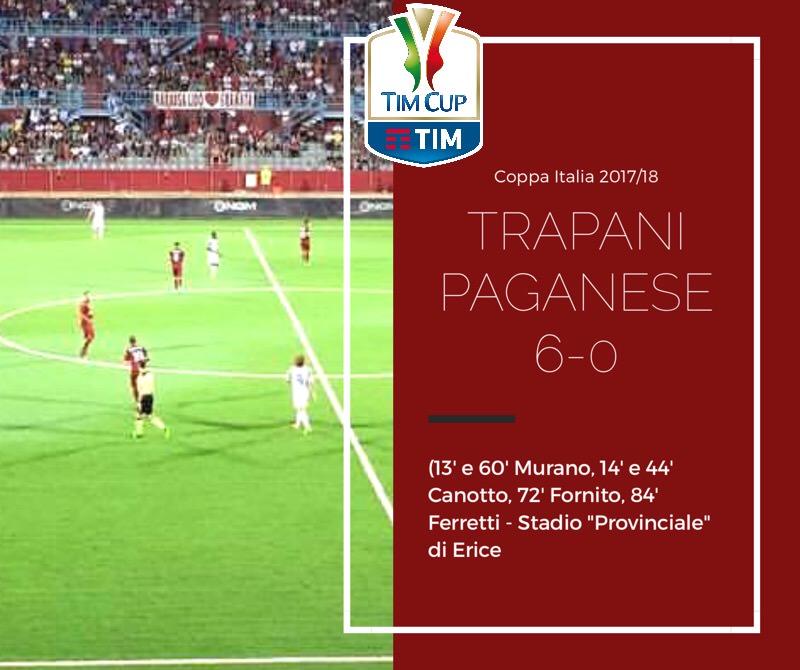Questo Trapani fa paura: 6-0 alla Paganese, ora la Ternana