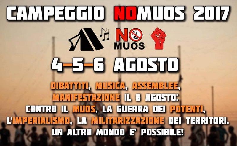 No Muos, continua la protesta: dal 4 al 6 agosto campeggio di lotta a Niscemi