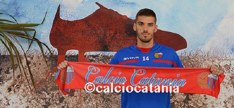 Calcio Catania, si sfoltisce la rosa: ceduto Bogdan al Livorno a titolo definitivo