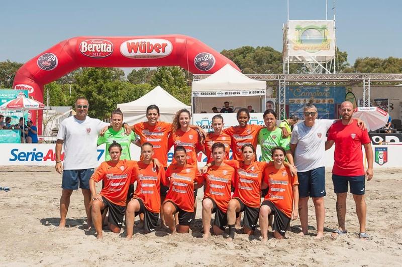 Beach soccer femminile: buona la prima per il Canalicchio, Napoli KO