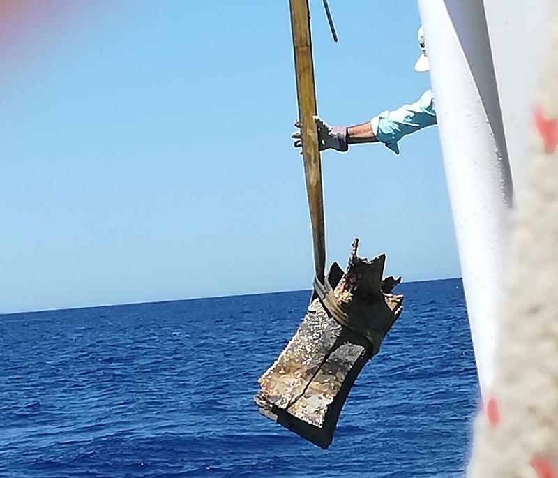 Ritrovato a 80 metri di profondità il 12esimo rostro della battaglia delle Egadi