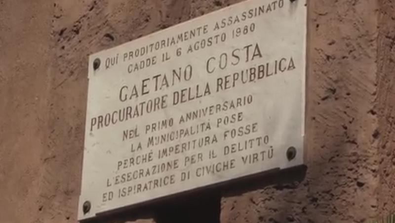 Commemorati procuratore Costa e i poliziotti Cassarà e Antiochia