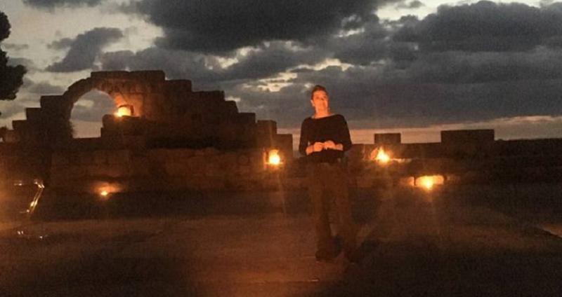 Una straordinaria Monica Guerritore al teatro antico di Tindari