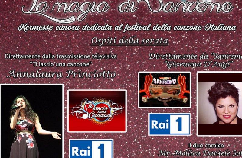 Domani sera ad Alì Superiore, una serata dedicata al Festival di Sanremo