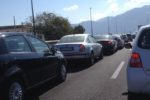 Tamponamento tra 3 auto lungo la Tangenziale di Catania: traffico intenso