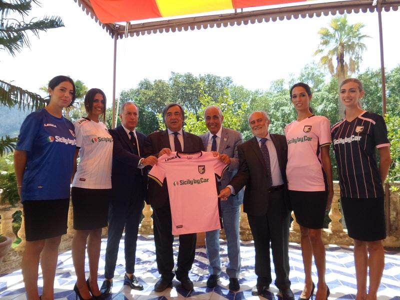 Presentati nuovo sponsor e nuove magliette del Palermo