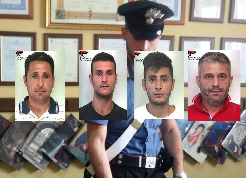 Maxi rissa e colpi di fucile tra due famiglie: 4 arresti e 3 denunce