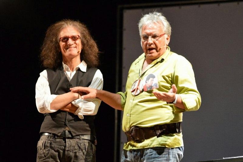 Gino Astorina e Vincenzo Spampinato divertono e commuovono nell'onda della nostalgia