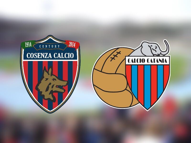 """Cosenza-Catania 0-1: i rossazzurri non si fermano più, sbancato il """"Marulla"""". RIVIVI LA CRONACA"""