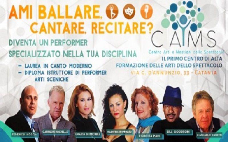 Sai ballare, cantare o recitare? C.A.M.S. Catania sta cercando il Tuo talento!