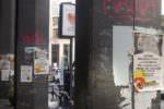 Pubblicità abusiva: passati a setaccio i portici di via Ruggero Settimo