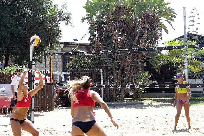 Finali di Beach Volley a Catania, parte oggi la corsa scudetto