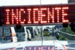 Incidente in galleria sulla A19: coinvolti diversi veicoli