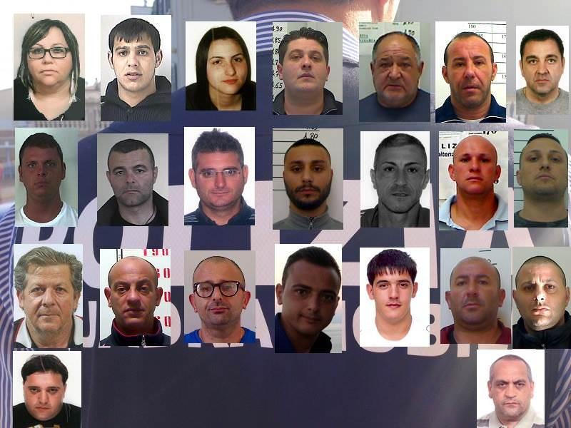 Duro colpo al Clan Cappello-Bonaccorso: i NOMI e le FOTO degli arrestati. IL VIDEO