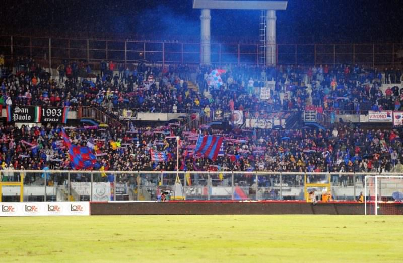 Casertana-Catania, divieto di trasferta ai tifosi della formazione rossazzurra