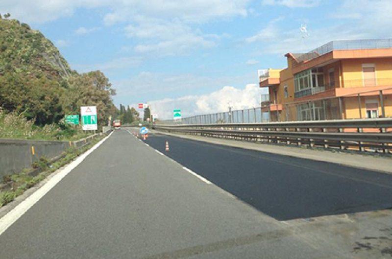 Accorgimenti tecnici sulle autostrade A20 e A18: chiusura corsie di sorpasso e nuovi limiti di velocità