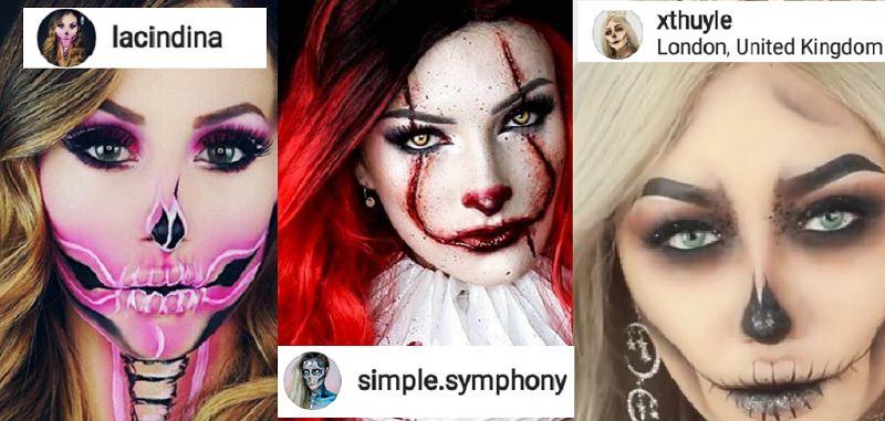 Halloween 2017: occhio al make-up!