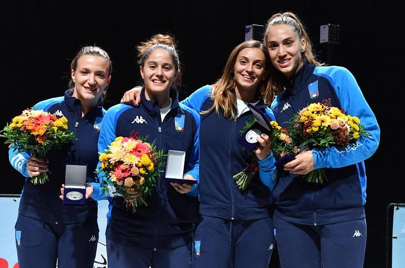 Rossella Fiamingo delizia ancora: è argento nella gara a squadre