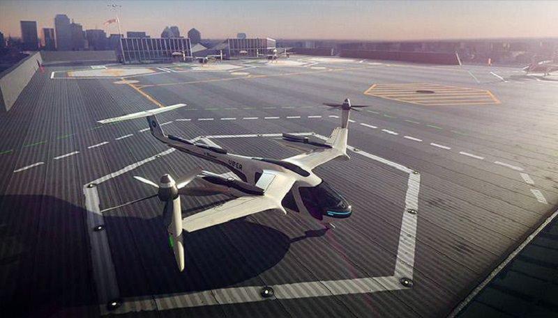 UberAir e il taxi-drone