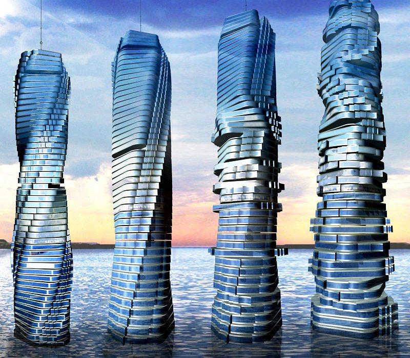 """Giganti roteanti: è la nuova scommessa della """"Dynamic Architecture"""""""