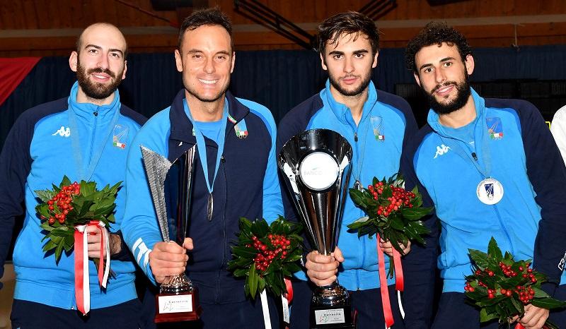 Coppa del mondo, Paolo Pizzo ed Enrico Garozzo vincono la medaglia d'argento