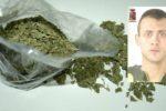 Via vai nella sua abitazione insospettisce i poliziotti: in manette 21enne per spaccio di marijuana