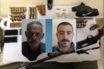 Detenevano armi illegali e clandestine: arrestati due uomini nel nisseno