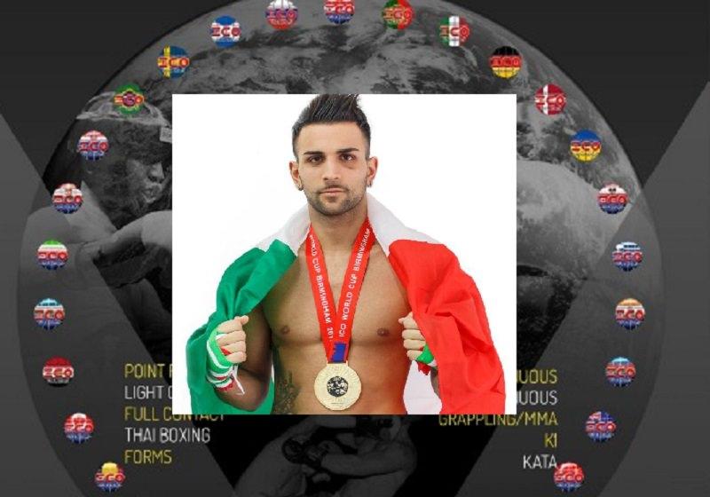"""Graziano Falzone sul tetto del mondo, è campione di kick boxing: """"È stata la mia finale, ma non mi sento arrivato"""""""