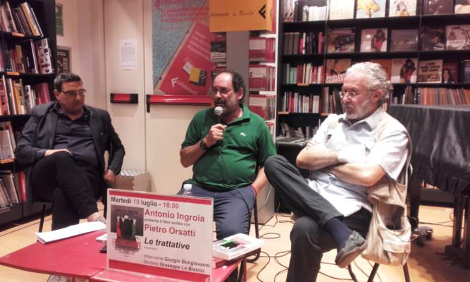 """""""Le Trattative"""", presentata alla Feltrinelli la nuova fatica letteraria di Antonio Ingroia"""