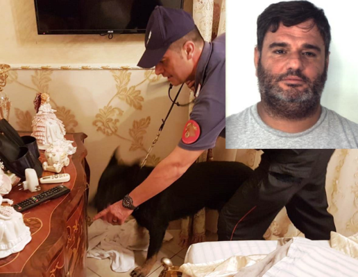 Blitz nel quartiere San Giorgio: donna trovata con 6 chili di cocaina, marito catturato a casa della suocera