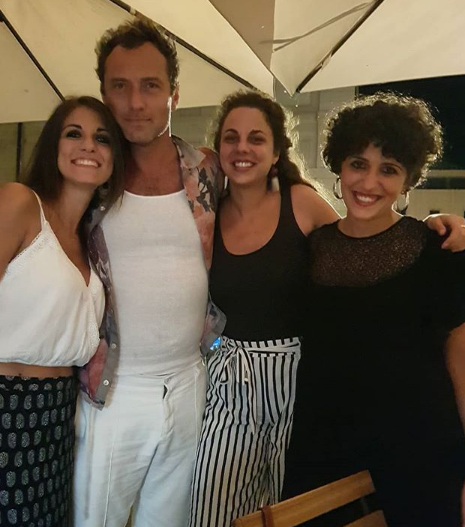 Jude Law Instagram Siracusa GiuliaDAlessandro