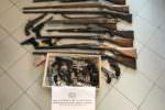 Scoperte armi illegali in via Vincenzo Giuffrida: un indagato
