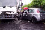 Tre incidenti nel Catanese: sei auto e un camion coinvolti, cinque feriti tra cui una bambina – FOTO