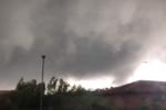 Tromba d'aria su San Pietro Clarenza: disagi e preoccupazione tra gli abitanti – VIDEO