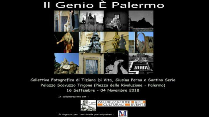 """Fotografia, a palazzo Scavuzzo Trigona arriva la mostra collettiva """"Il Genio È Palermo"""""""