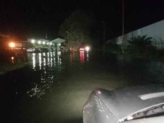 Sicilia k.o., inizia la conta dei danni a Catania e provincia: chiuse al traffico via San Giuseppe La Rena e viale Kennedy