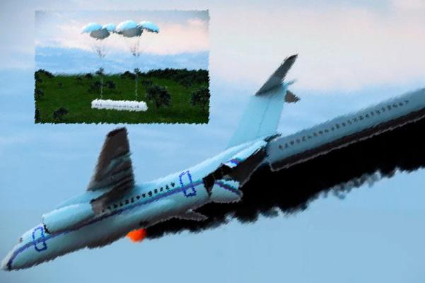 Cabina rimovibile per aerei, il nuovo metodo di salvataggio di Vladimir Tatarenko