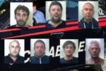 Furti in casa e incendio doloso, operazione dei carabinieri nel Catanese: scattano 8 arresti